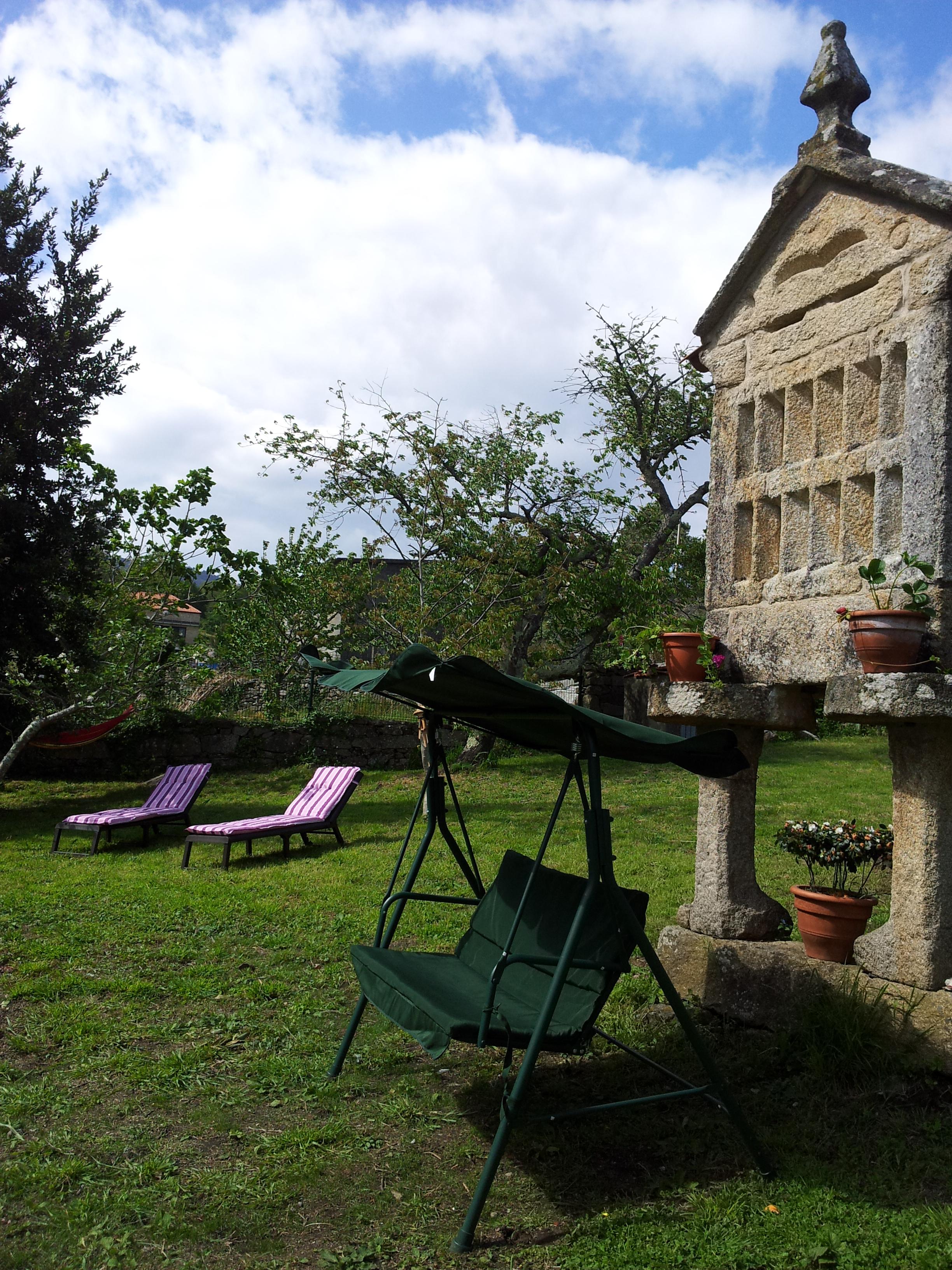 Relax jard n casa r stica casa do crego pontevedra for Jardin casa rustica
